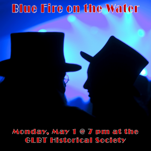 Blue Fire on the Water
