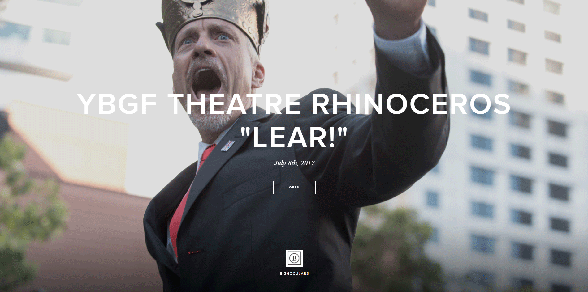 John Fisher in Lear!