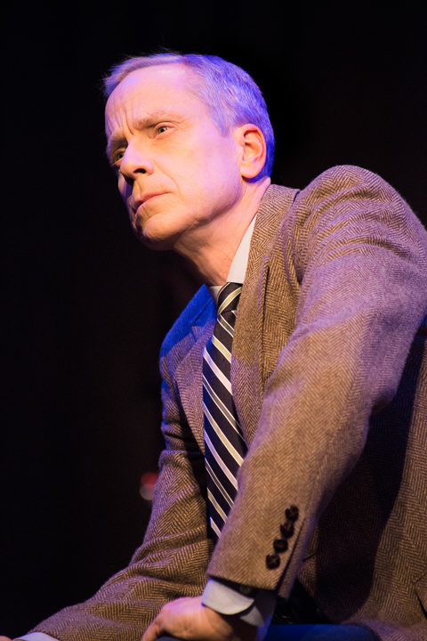 Pictured: John Fisher* as Dr. Dysart in Peter Shaffer's Equus, directed by John Fisher. A Theatre Rhinoceros Production at the Eureka Theatre; Photo by David Wilson *Member Actors Equity Association