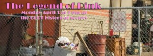 """The Legend of Pink"" Free Reading April 3 at 7 pm"
