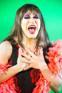 Pictured: Rudy John Guerrero* as Tick in PRISCILLA, QUEEN OF THE DESERT - THE MUSICAL, directed by John Fisher; A Theatre Rhinoceros Production at The Eureka Theatre; Photo by David Wilson.