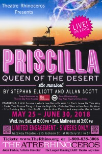 """Priscilla, Queen of the Desert"" 2018 poster"