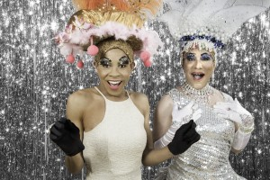 Pictured L to R: Charles Peoples III* as Adam and Rudy Guerrero* as Tick in PRISCILLA, QUEEN OF THE DESERT, The Musical