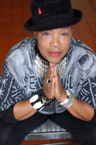 Rhodessa Jones in a Black Hat
