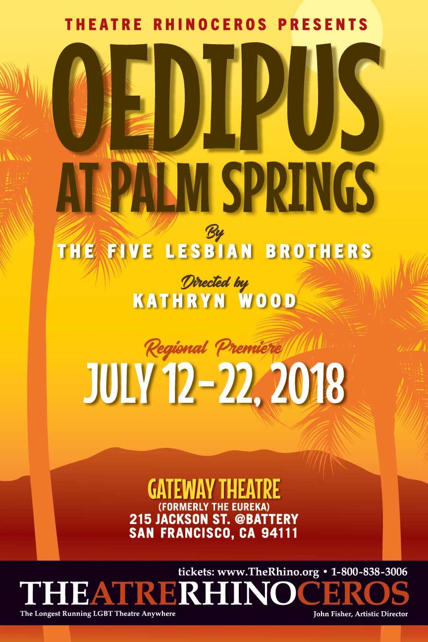 Oedipus at Palm Springs Postcard