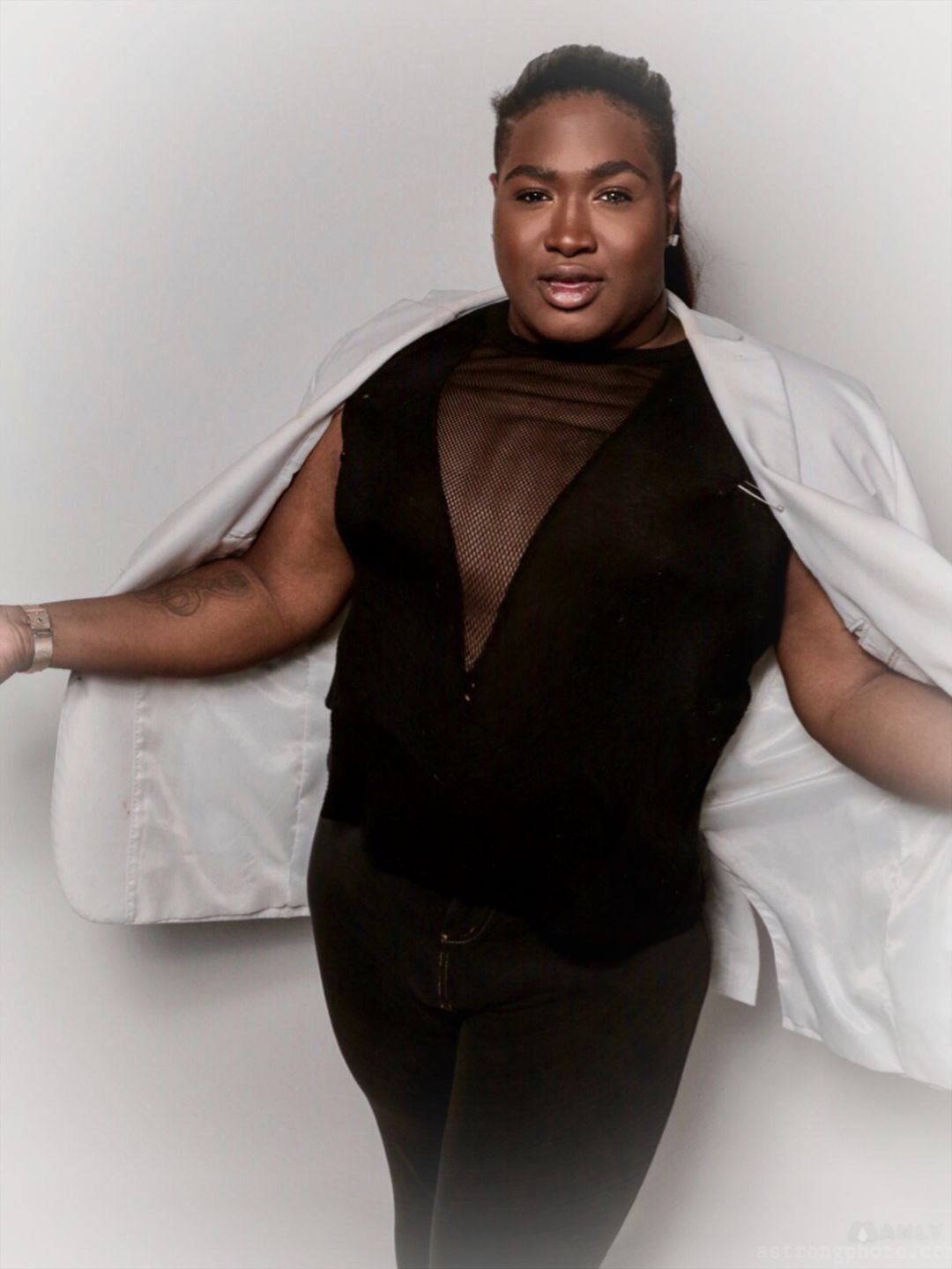 Branden Noel Thomas stars as Deloris in the Theatre Rhinoceros production of SISTER ACT: THE MUSICAL at the Gateway Theater.