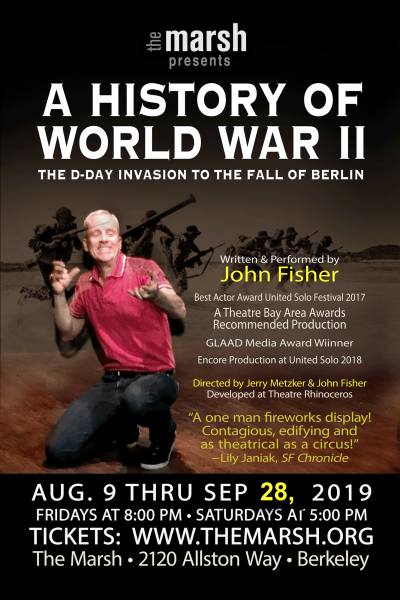 John Fisher in A History of World War II: The D-Day Invasion to the Fall of Berlin