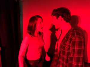 Polly Levi as Diana and Jacob Soss as Plant in RADICAL
